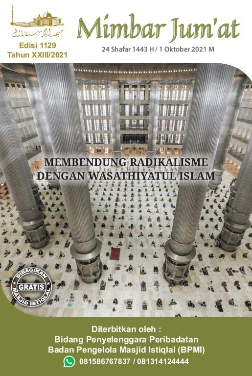 MEMBENDUNG RADIKALISME DENGAN WASATHIYATUL ISLAM
