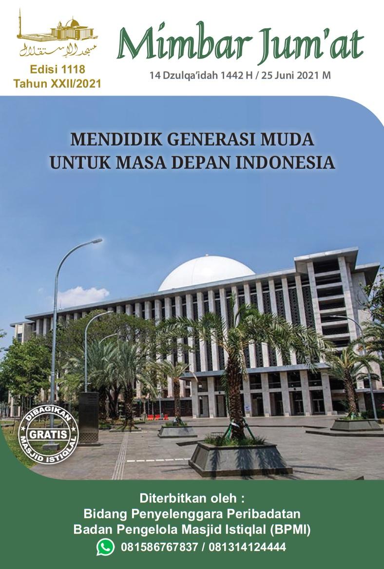 MENDIDIK GENERASI MUDA UNTUK MASA DEPAN INDONESIA