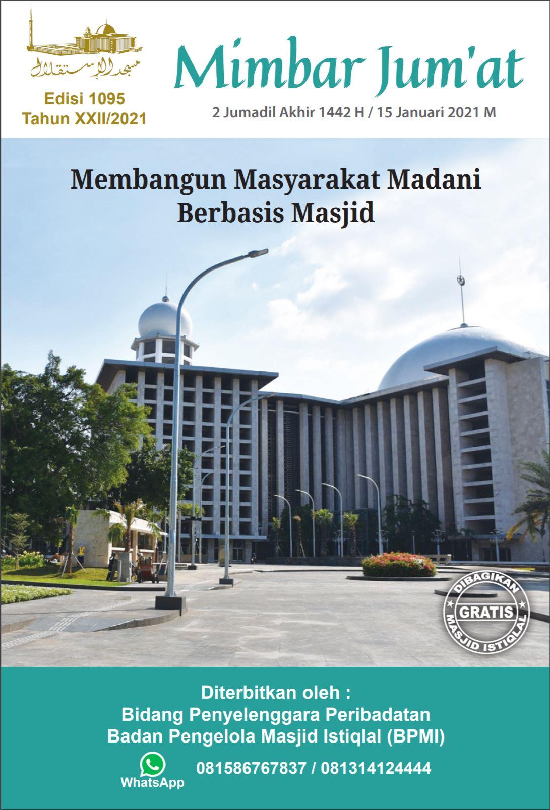Membangun Masyarakat Madani Berbasis Masjid