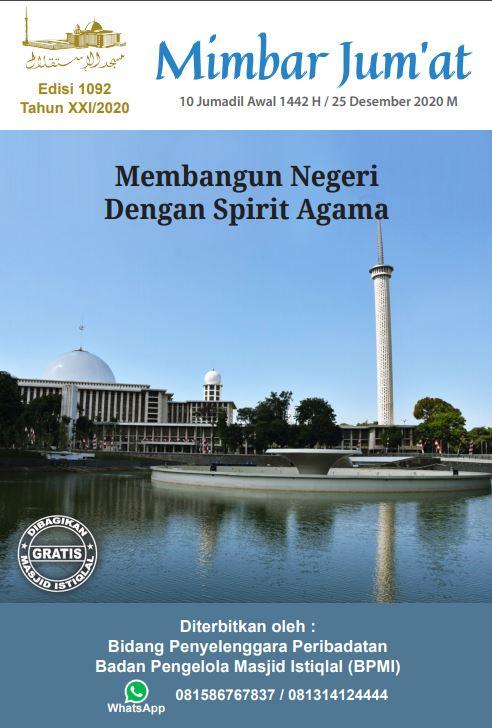 Membangun Negeri Dengan Spirit Agama
