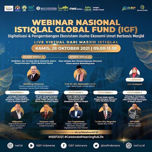 WEBINAR NASIONAL ISTIQLAL GLOBAL FUND