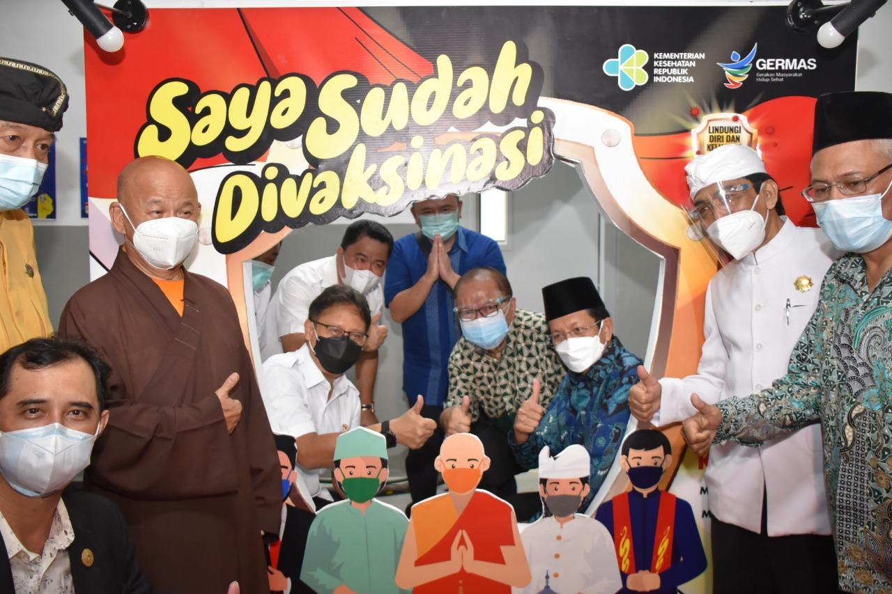 Masjid Istiqlal jadi Tempat Vaksinasi Covid-19 untuk Pemuka Agama