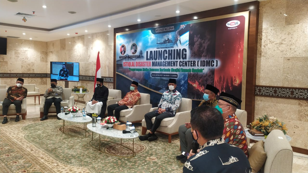 Istiqlal Luncurkan Program Istiqlal Disaster Management Center (IDMC)