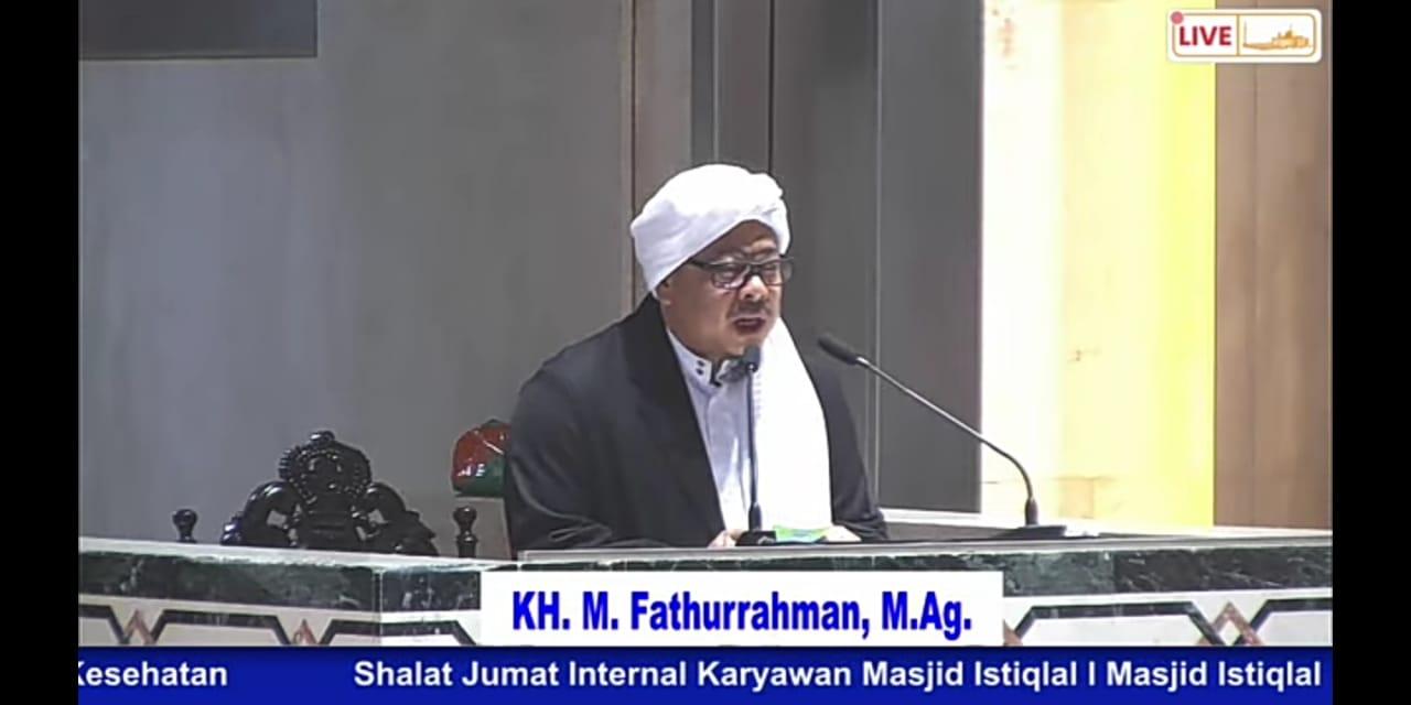 KH. Fathurrahman: Kedamaian Bisa Terwujud, Asal Tujuannya Allah