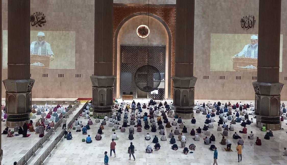 Pemerintah Putuskan Awal Ramadan, Istiqlal Gelar Salat Tarawih