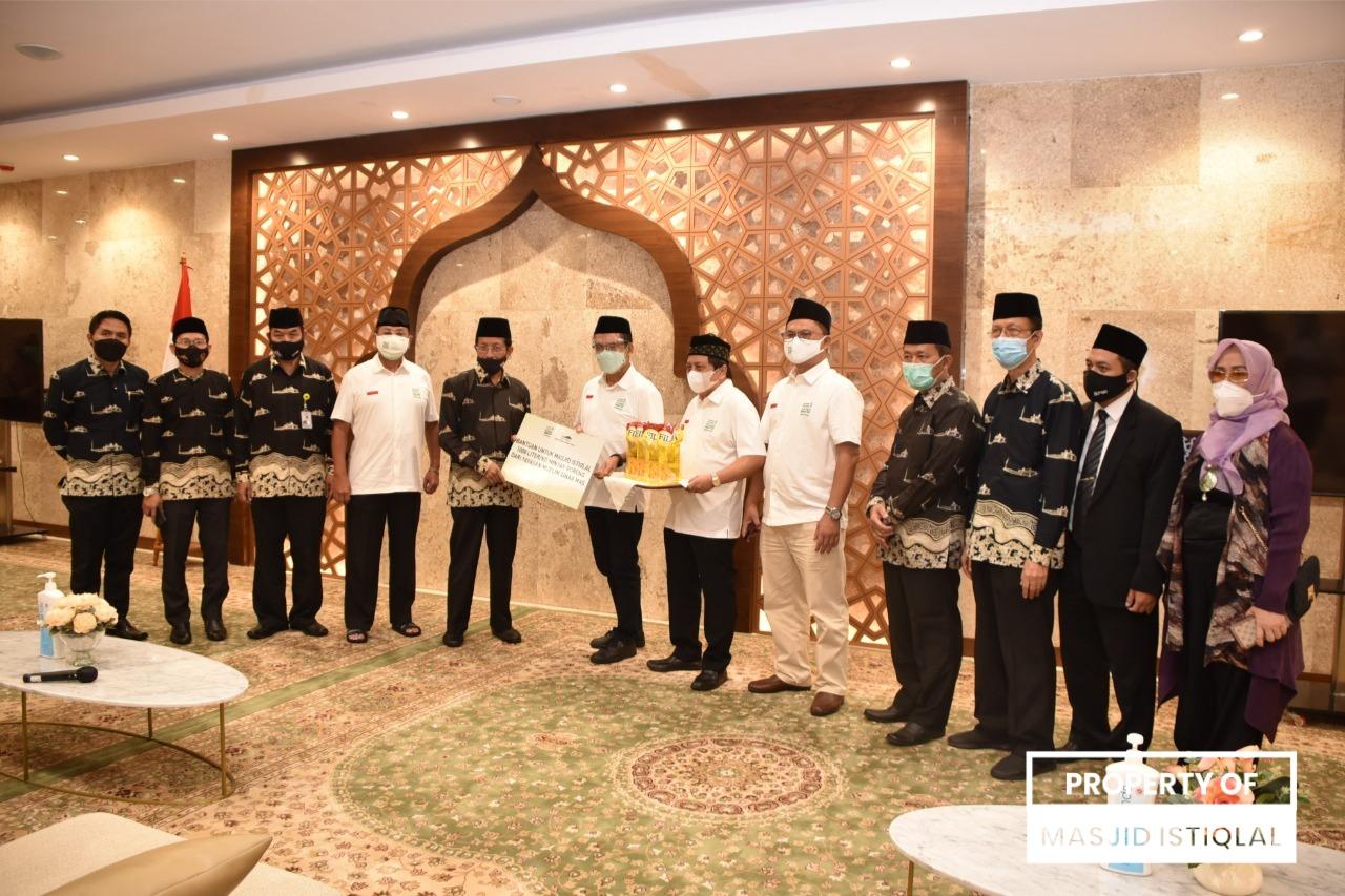 Ciptakan Kebaikan di Masjid Istiqlal, BPMI dan Yayasan Muslim Sinar Mas Berkolaborasi