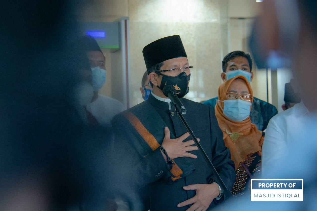 PPKM Darurat Diperpanjang, KH Nasaruddin Umar Optimis Masyarakat Bisa Lewati Lonjakan Pandemi Covid-19