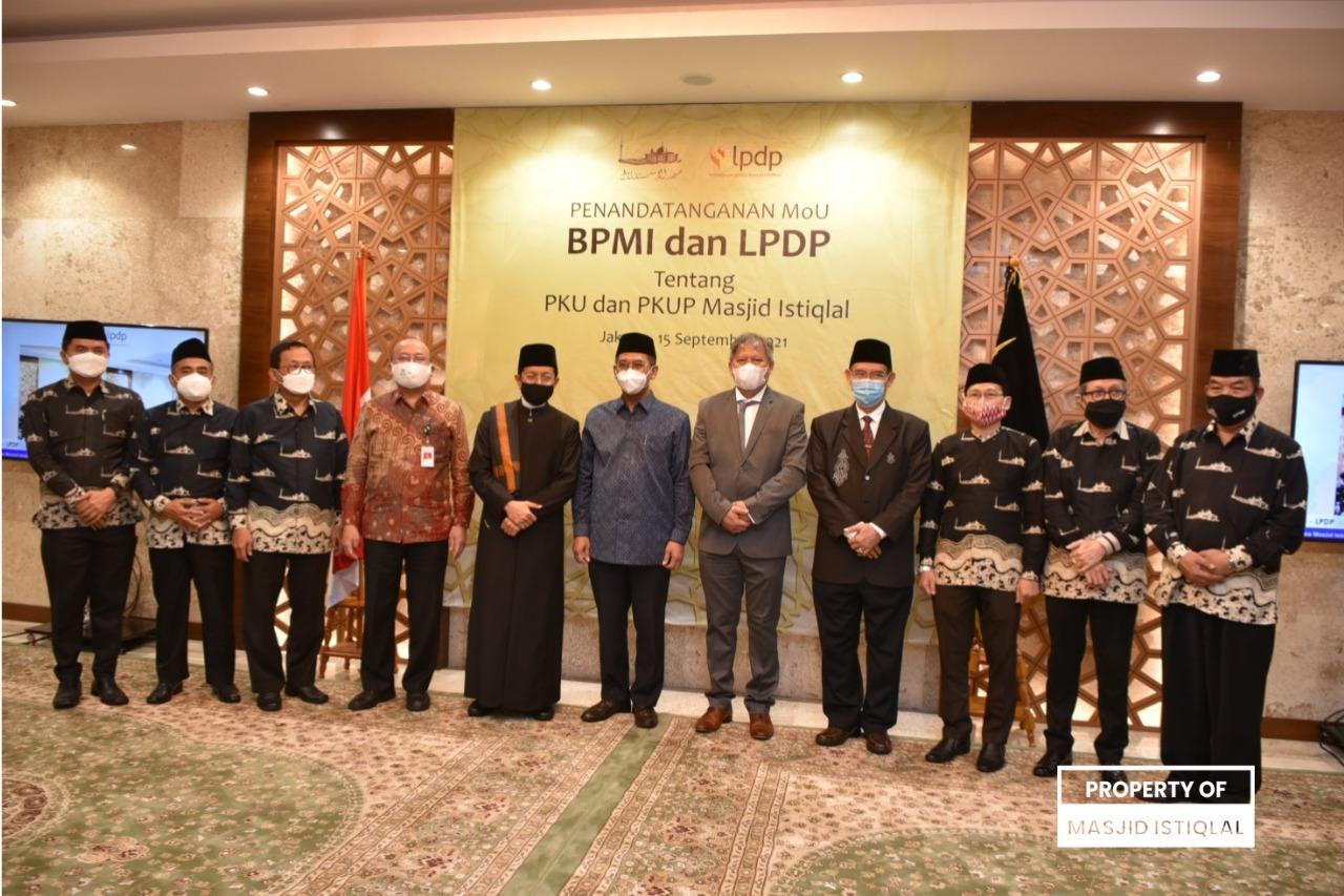 BPMI dan LPDP Tandatangani MoU Pendidikan Kader Ulama (PKU) dan PKU Perempuan