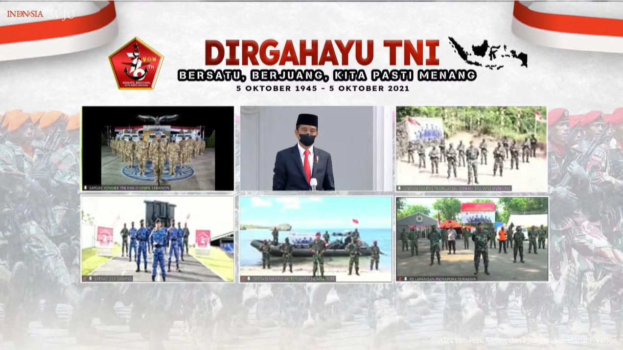 Peringatan HUT TNI ke-76