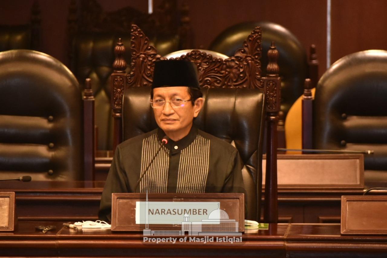 KH Nasaruddin Hadiri Seminar Nasional Pengusulan Gelar Pahlawan Nasional Syaikhona Muhammad Kholil