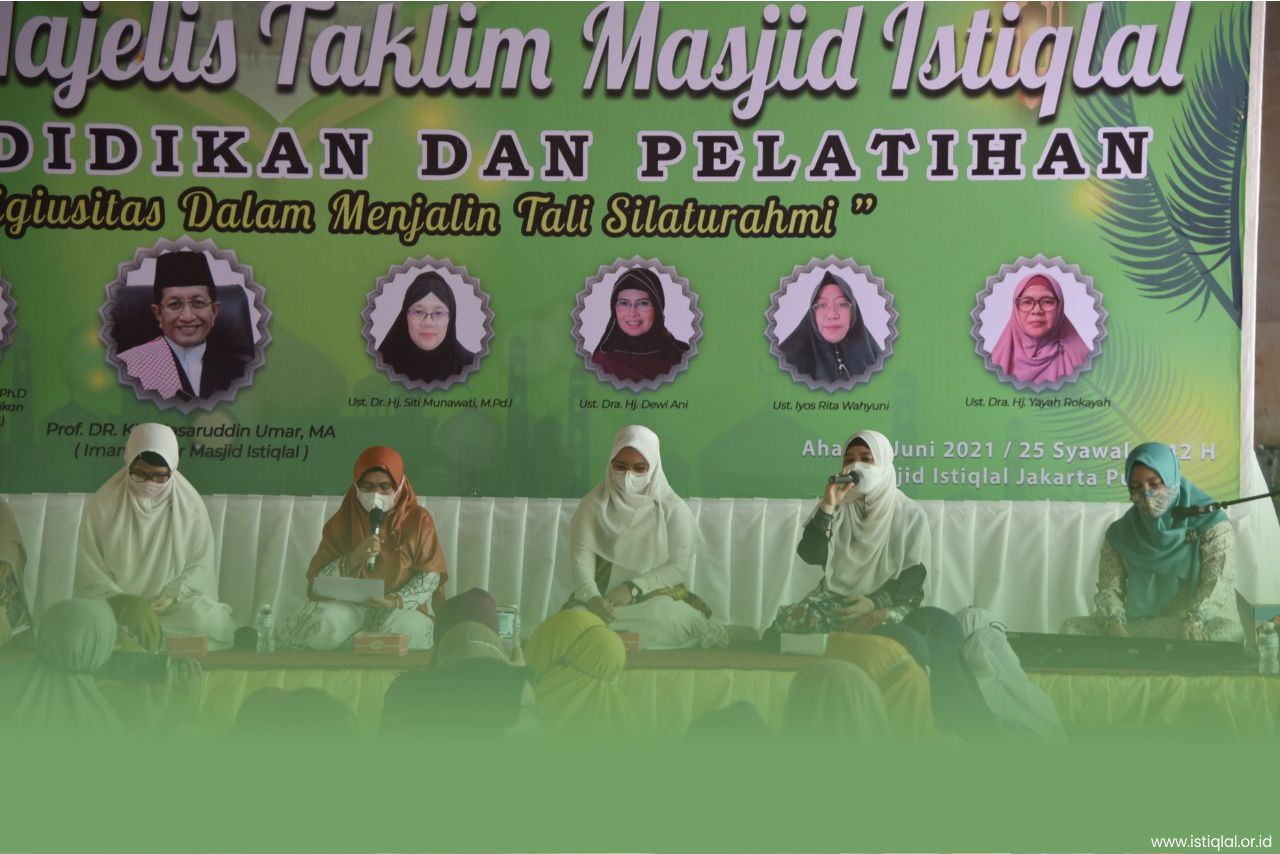 Diklat BPMI Gelar Silaturahim Majelis Taklim Kaum Ibu Masjid Istiqlal