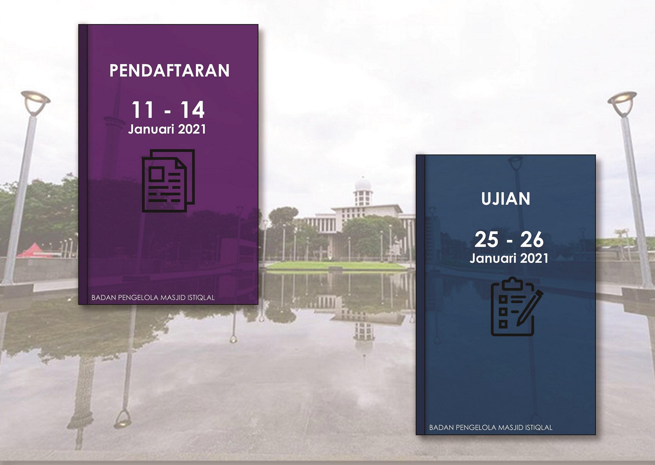PENDAFTARAN Pendidikan Kader Ulama Masjid Istiqlal 2021 Gelombang ke 2