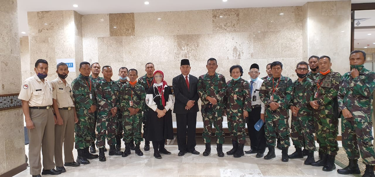 Kunjungan TNI ke Masjid Istiqlal