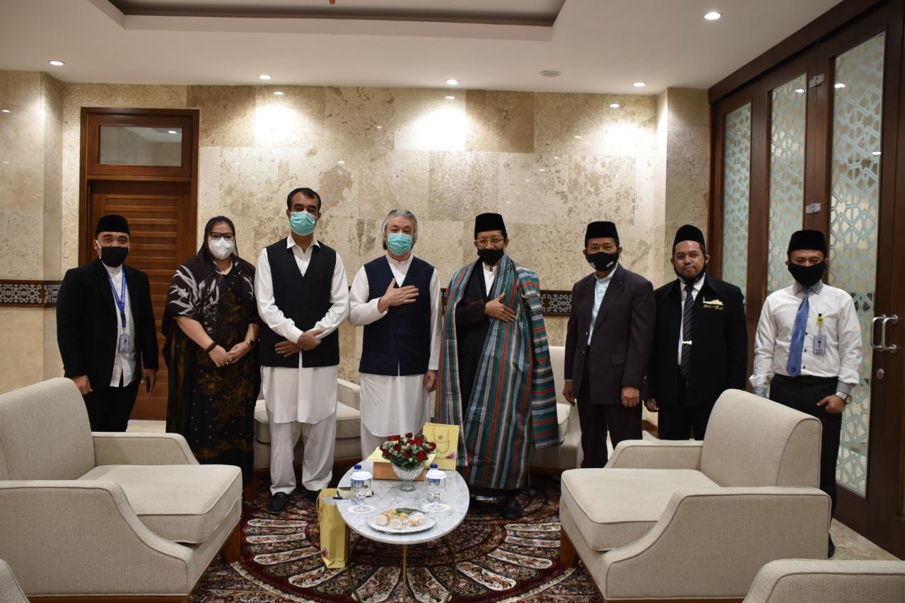 Kunjungan Duta Besar Afghanistan