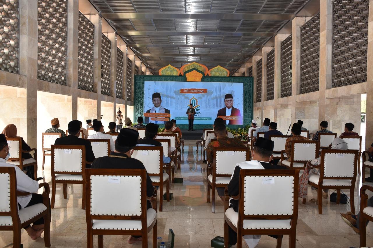 Imam Besar Masjid Istiqlal Hadiri Launching Indonesia Mengaji