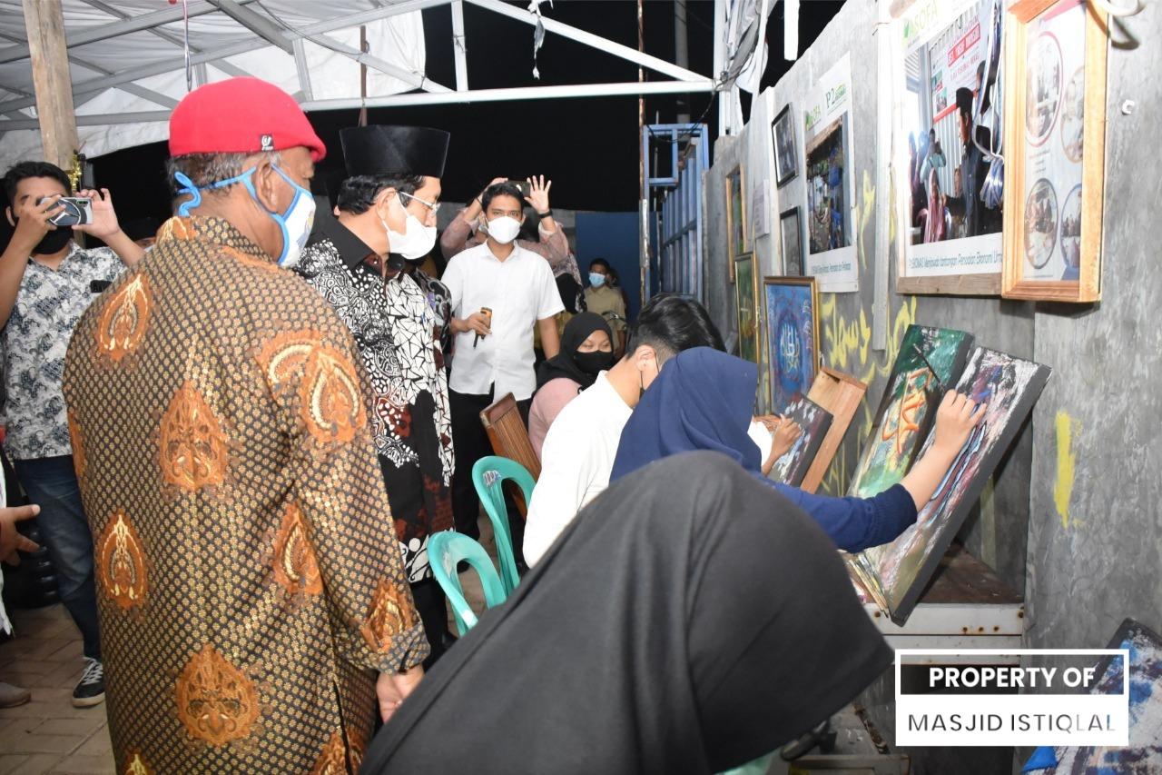KH Nasaruddin Umar Kunjungi Pemberdayaan Ekonomi Umat Yayasan Fikrul Akbar