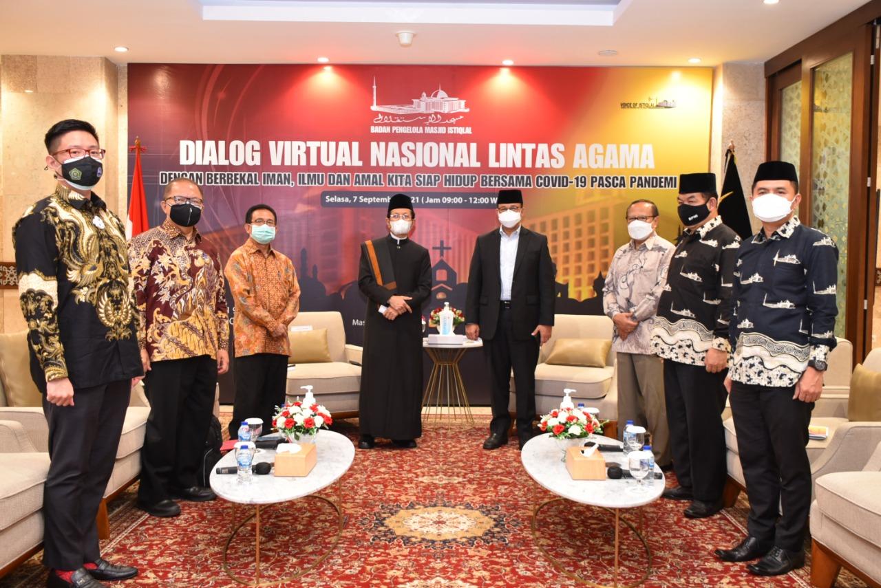Dialog Virtual Lintas Agama