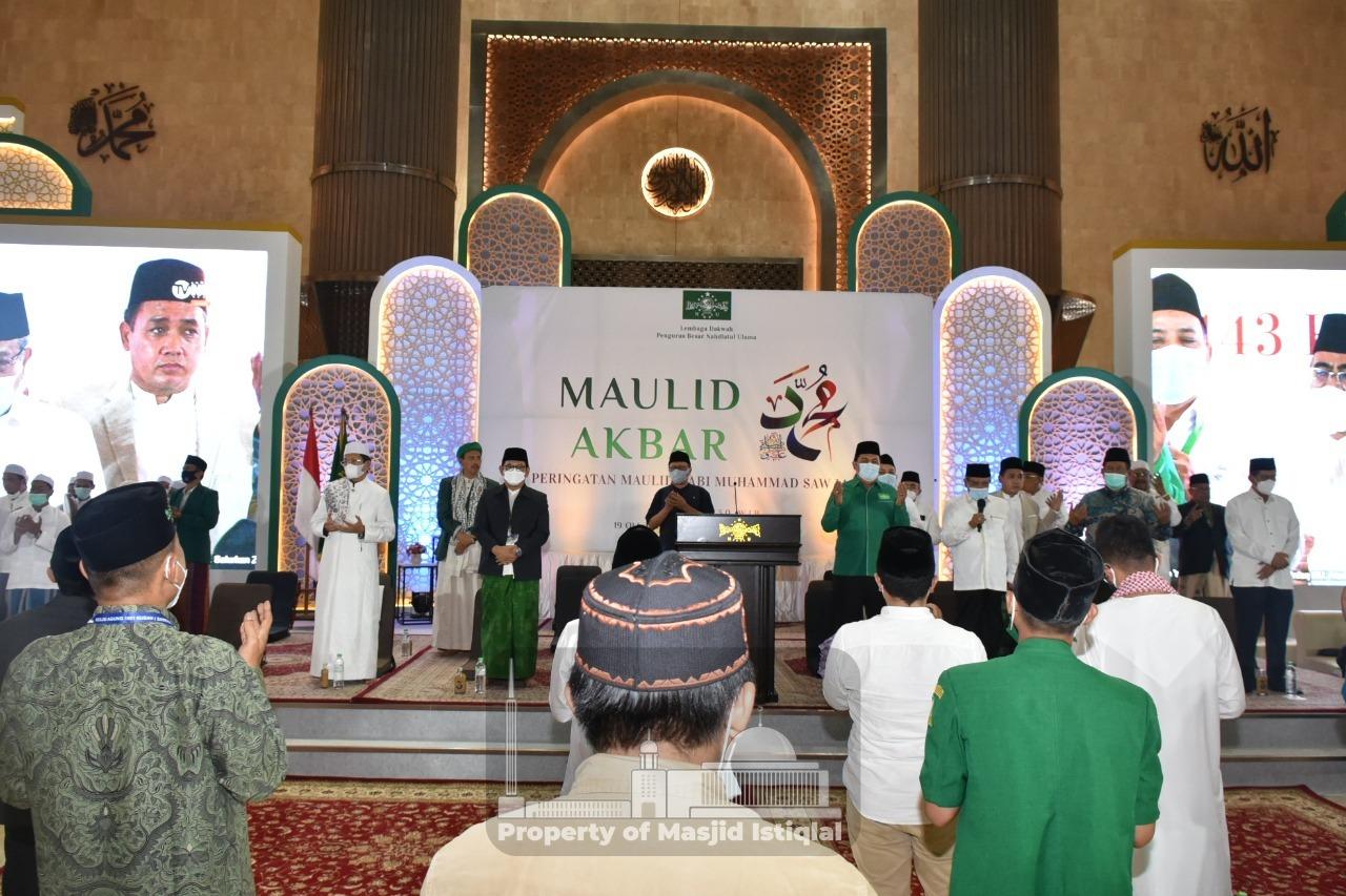 Penyelenggaraan Maulid Nabi di Masjid Istiqlal